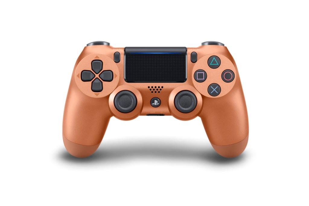 Wireless DUALSHOCK Controller_Blue_Camouflage_Metallic_Copper