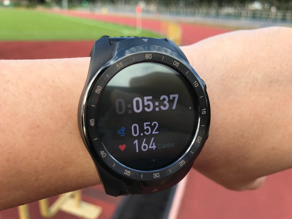 TicWatch Pro - Workout Zones