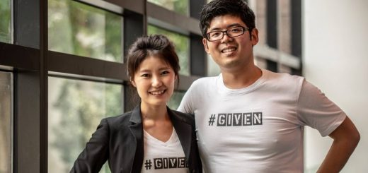 Cao Xin Xin and Charles Tan - Co-founders of The GIVEN Company