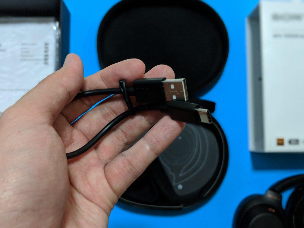 Sony WH-1000XM3 - USB Type-C