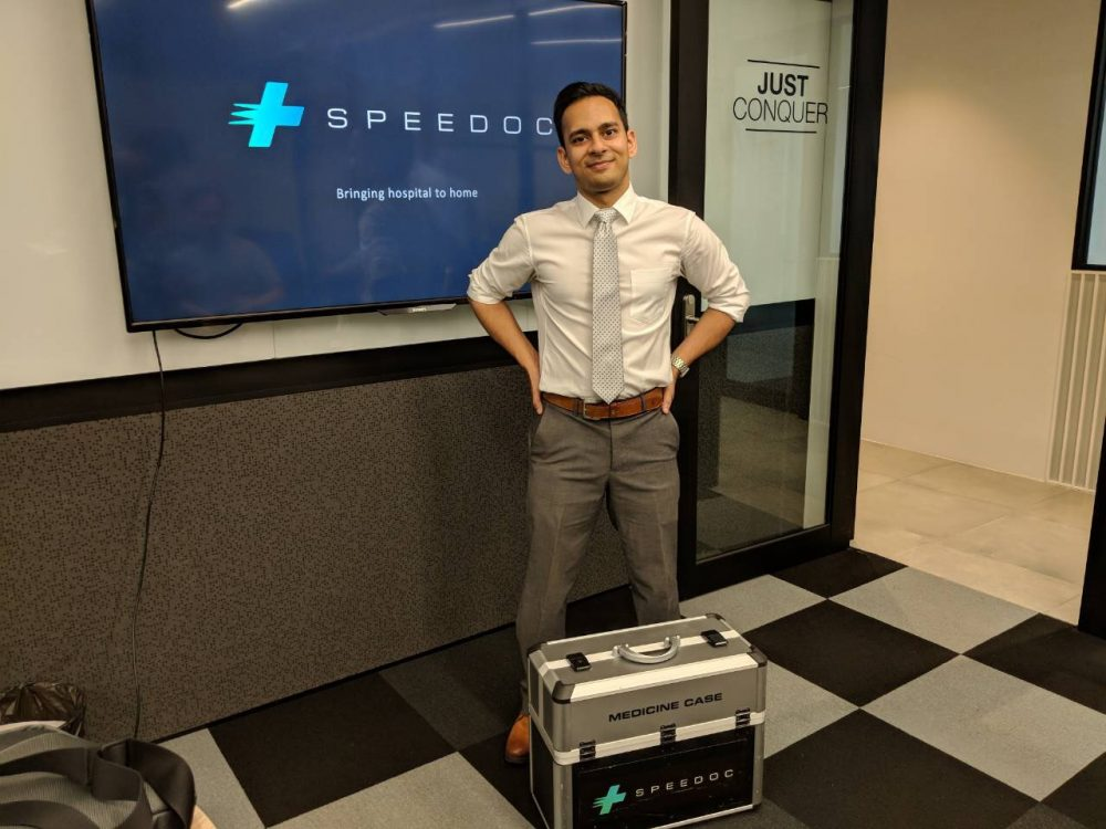 CEO and Founder of Speedoc, Dr Shravan Verma