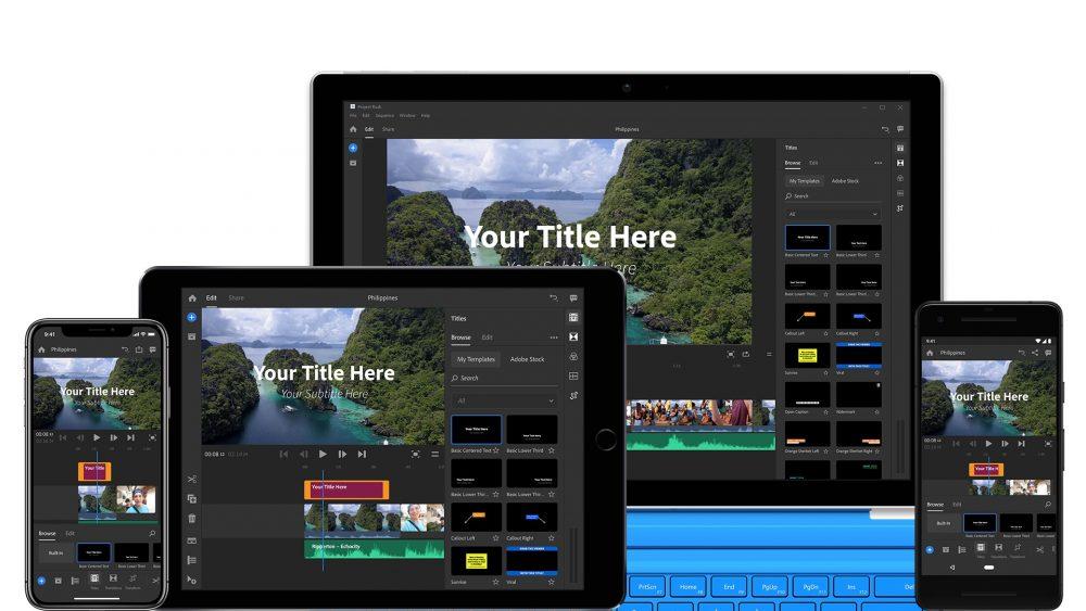 Adobe Premiere Rush CC Motion Graphics Templates