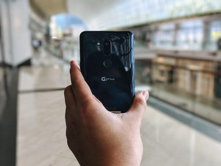 LG G7+ ThinQ - Back View