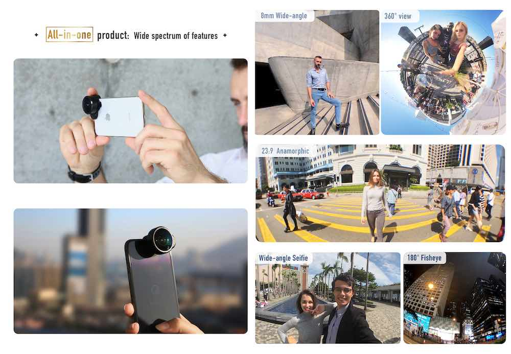 FusionLens - The most versatile lens for smartphone