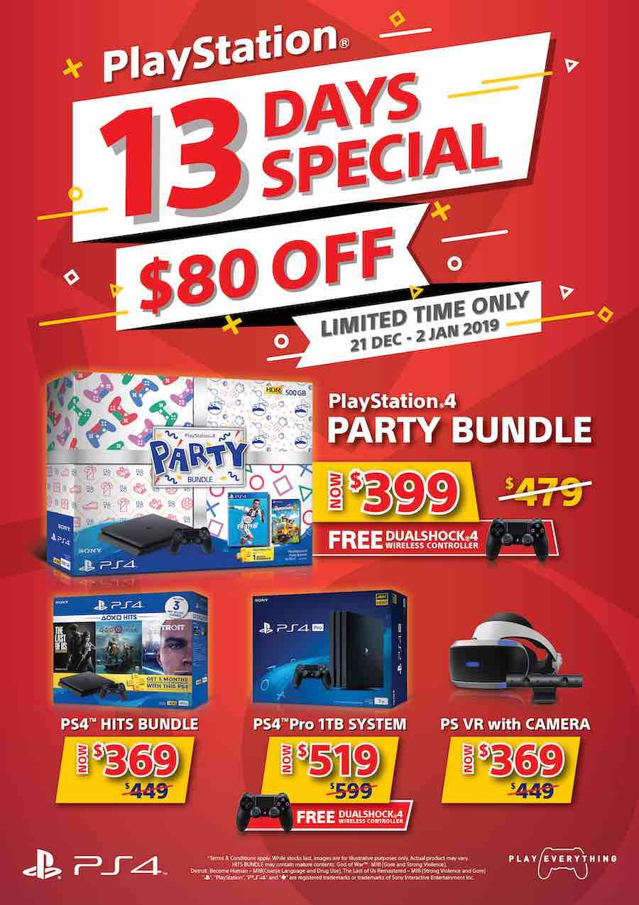 PlayStation 4 - 13 Days Special