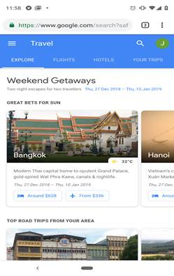 Google Flights_ Explore Tab