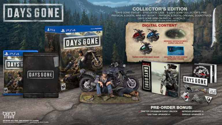 DAY'S GONE Collector's Edition | Tech Coffee House