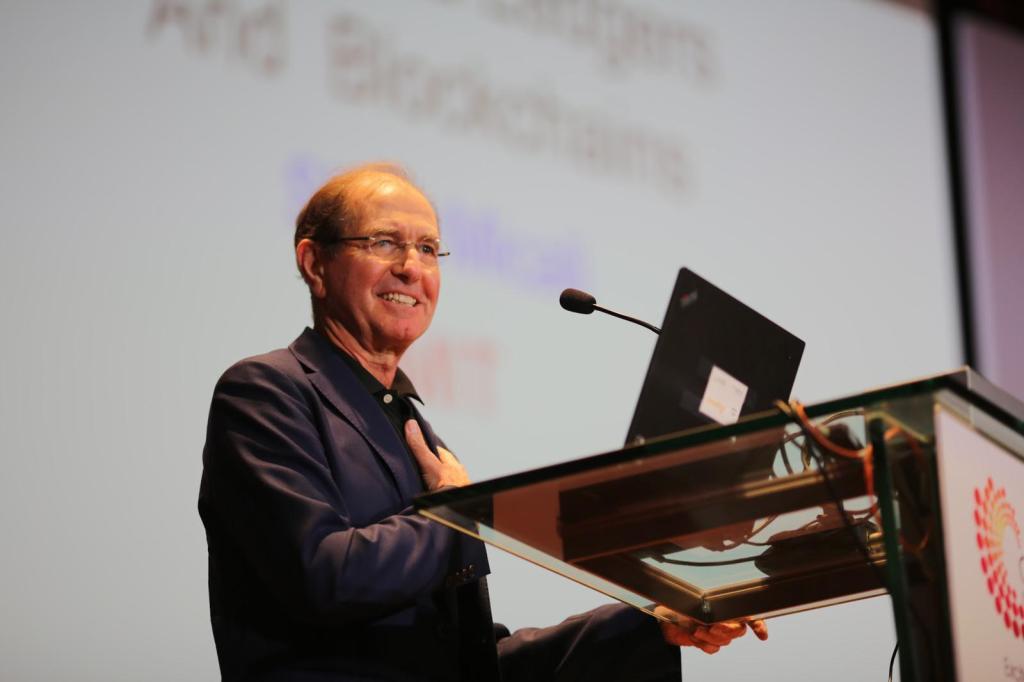 Professor Silvio Micali, 64, Turing Award (2012), Ford Professor of Engineering, Massachusetts Institute of Technology