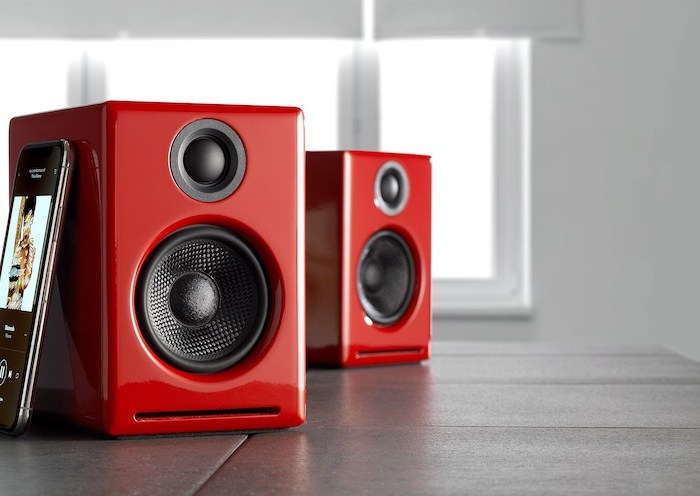 Audioengine A2+ Red   Tech Coffee House