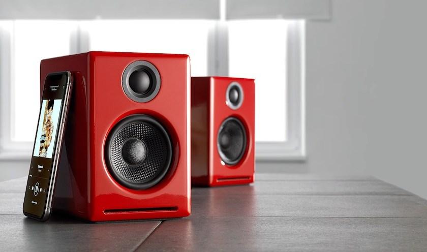 Audioengine A2+ Red | Tech Coffee House