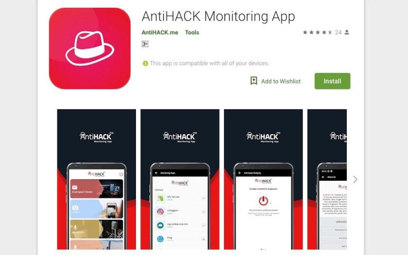 AntiHACK Monitoring App | Tech Coffee House