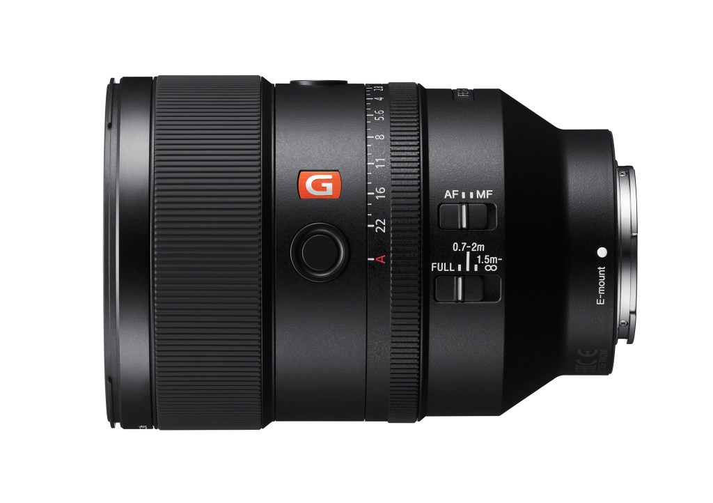 Sony unveils a new Full-frame 135mm F1.8 G Master Prime Lens