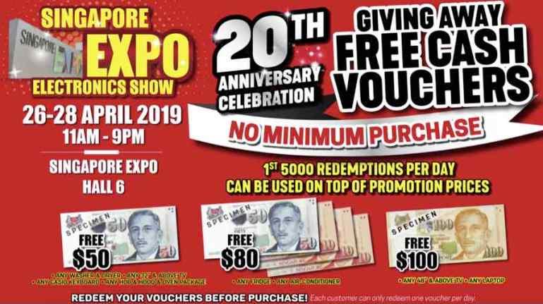 Singapore Expo Electronics Show