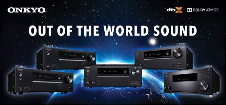 Onkyo Unveils 5 New Models of High-Performance AV Receivers with Dolby Atmos® and DTS:X® Features