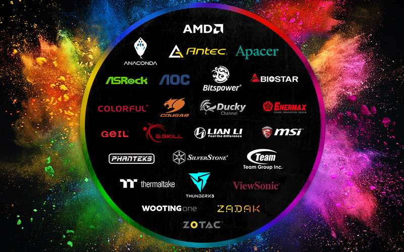 25 brands now support Razer Chroma lighting platform