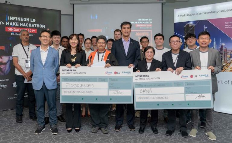 Infineon Technologies and LG debut IoT hackathon in Singapore