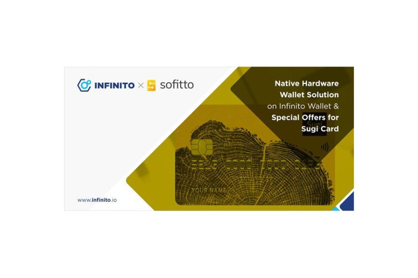 Infinito integrates Sofitto's Sugi Card creating Optimal Solution for Crypto Users