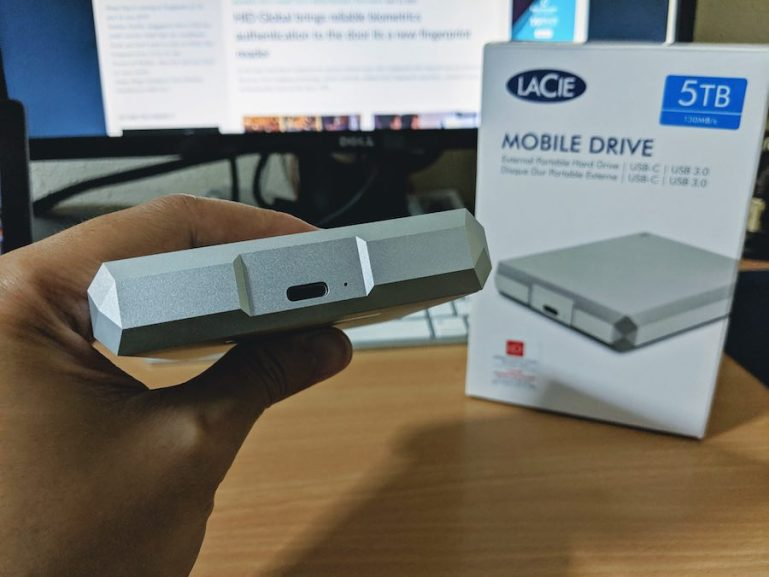 Review of the LaCie Mobile Drive (5TB)