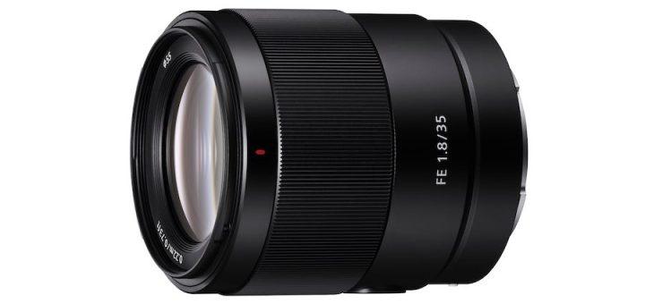 Sony unveils new full-frame 35mm F1.8 prime lens