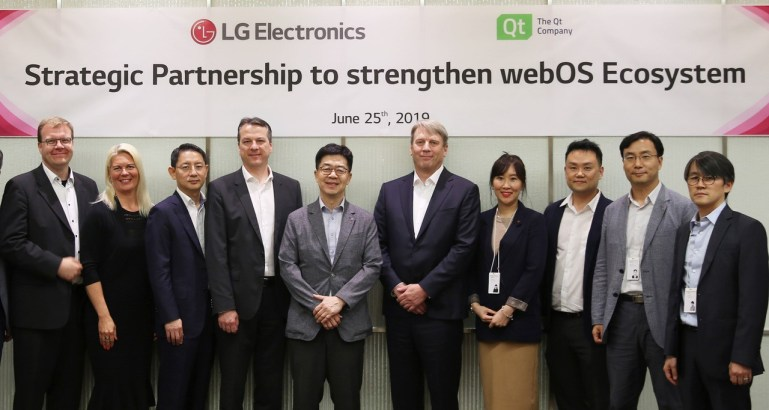 LG expands partnership with Qt on next-gen embedded devices running WebOS