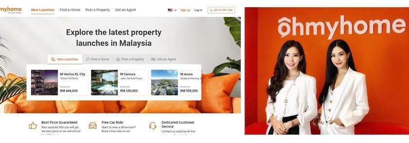 Buy and Sell Malaysia Property Easily with First Cross-Border One-Stop Property Solution Ohmyhome