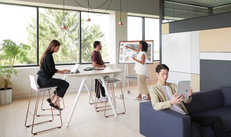 Microsoft launches All-New Surface Hub 2S and Steelcase® Roam™