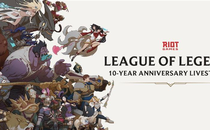 Riot Games unveils League of Legends 10-Year Anniversary Livestream