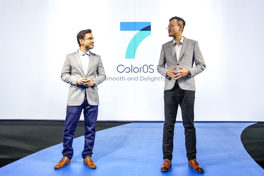 ­­­­OPPO Holds Launch for All-New ColorOS 7 Outside of China for the First Time