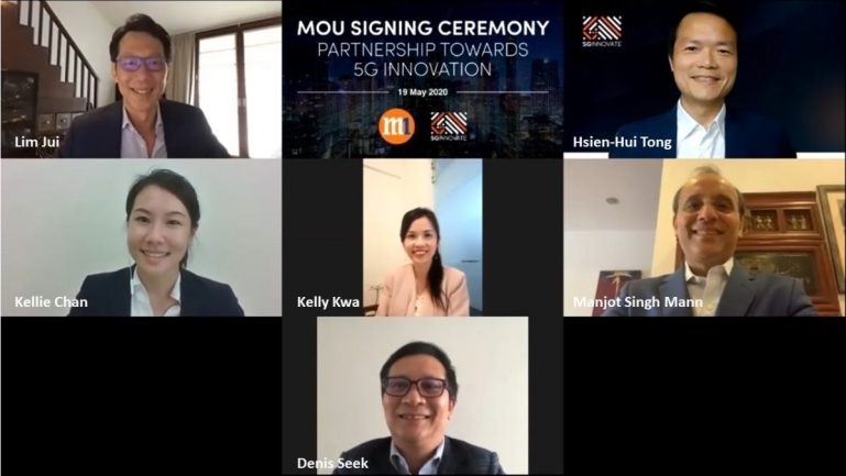 M1 and SGInnovate to help start-ups adopt 5G technology through new collaboration