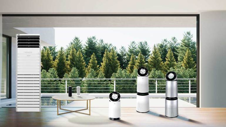 Lg's Expanded Puricare Lineup Delivers Complete Fresh Air Coverage to Any Space