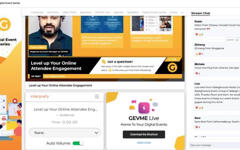 GEVME Live partners with world-leading remote simultaneous interpreting platform Interprefy