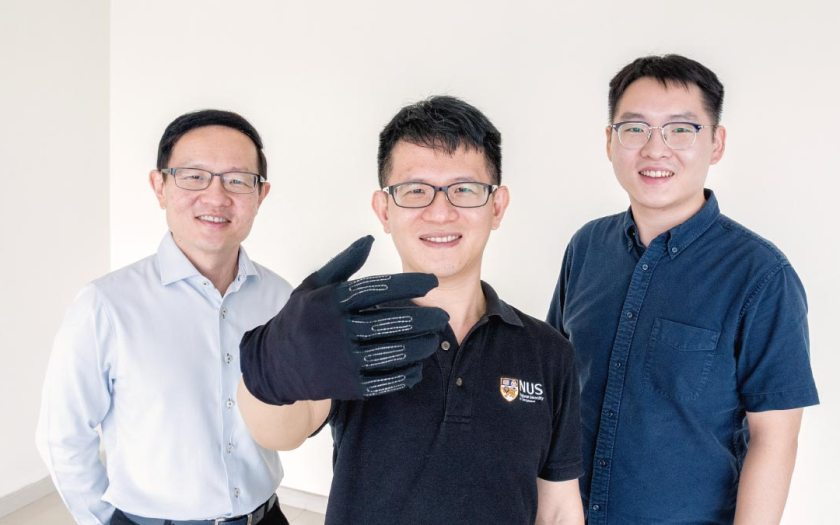 NUS researchers develop smart gaming glove that puts control in your hands