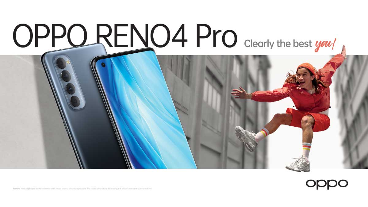 OPPO encourages Singaporeans to be #ClearlyTheBestYou with Reno4 Pro's new suite of features