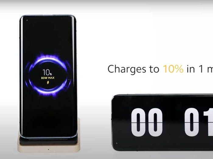 Xiaomi unveils pioneering 80W Mi Wireless Charging Technology