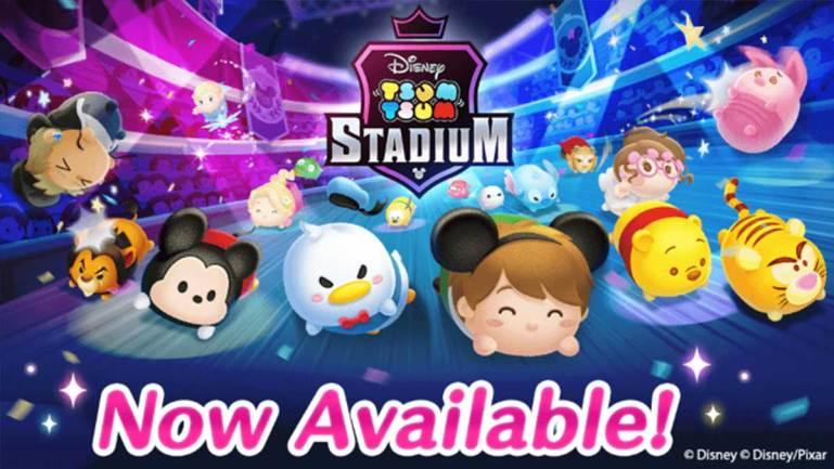 "Multiplayer game ""Tsum Tsum Stadium"" Goes Live!"