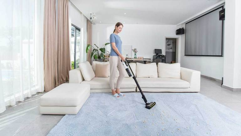 Kärcher's new lightweight cordless vacuum lets you clean the house effortlessly