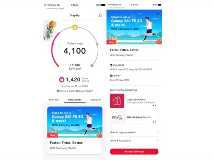 Samsung and Singtel Partner to Make Fitness More Rewarding for Singaporeans
