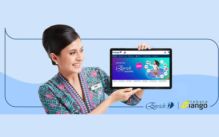 Malaysia Airlines Launches New Online Shopping Platform by Enrich, Powered by RebateMango