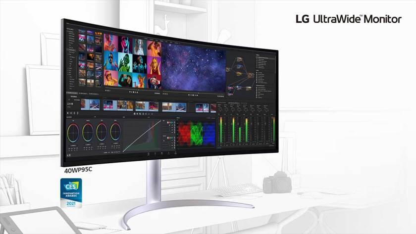 2021 LG UltraWide Monitor