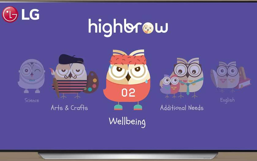 LG and Highbrow to deliver curated educational TV content for children aged 12 and below