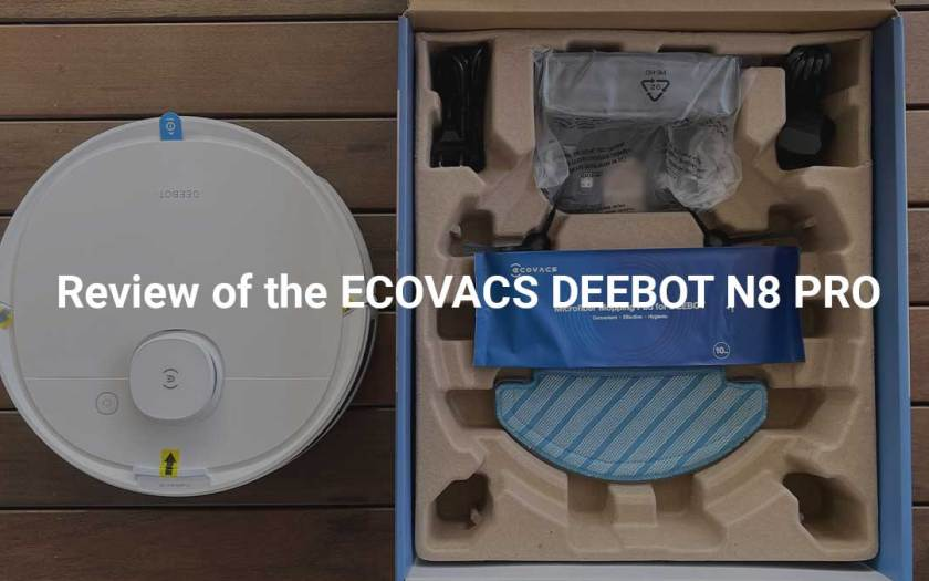 Review of the ECOVACS DEEBOT N8 PRO