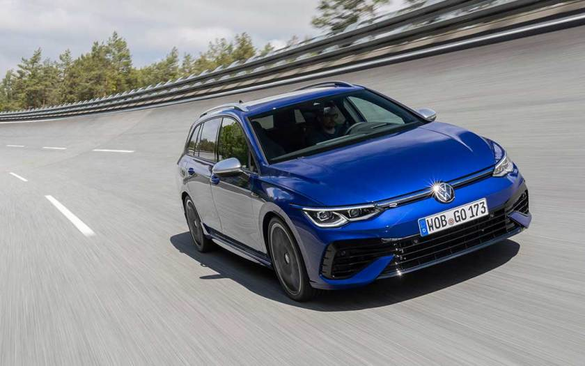 The new Golf R Estate: more power, more driving dynamics, more emotions, more space