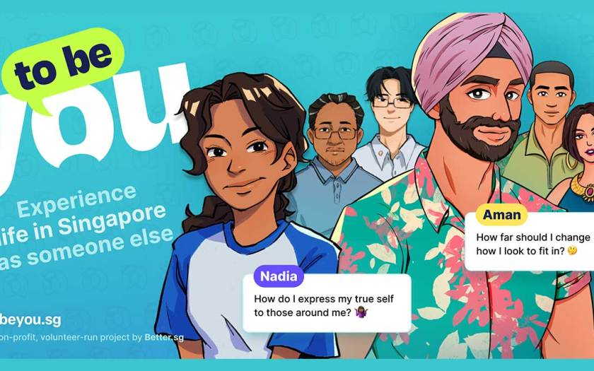 Better.sg Launches Experiential Game to Encourage Empathy and Dismantle Stereotypes