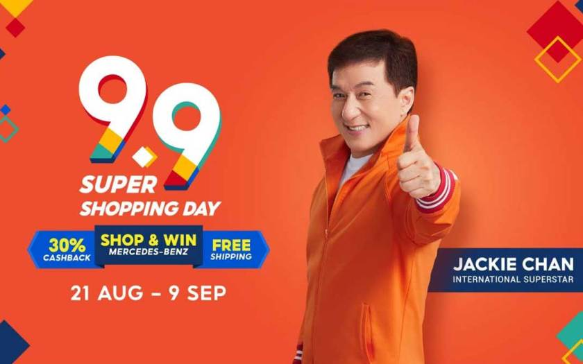 Shopee kicks off an action-packed year-end shopping season with Jackie Chan