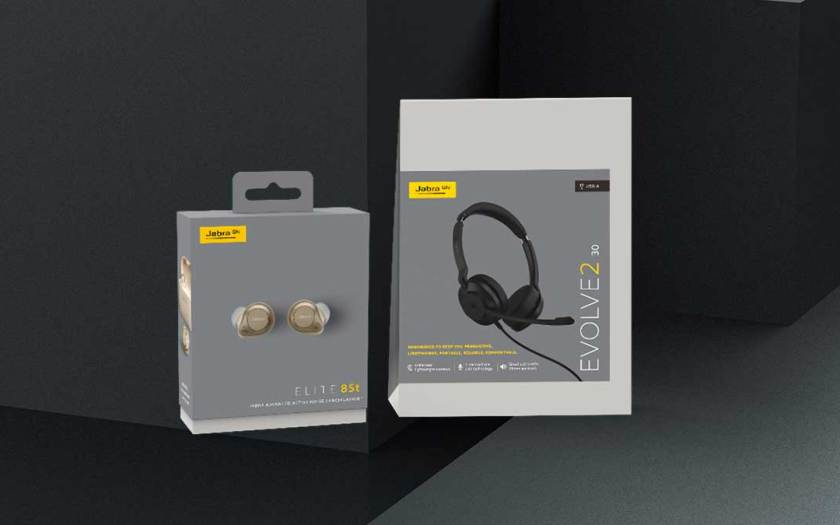 Jabra marks sustainability journey with 100% sustainable packaging for the Elite 85t & Evolve2