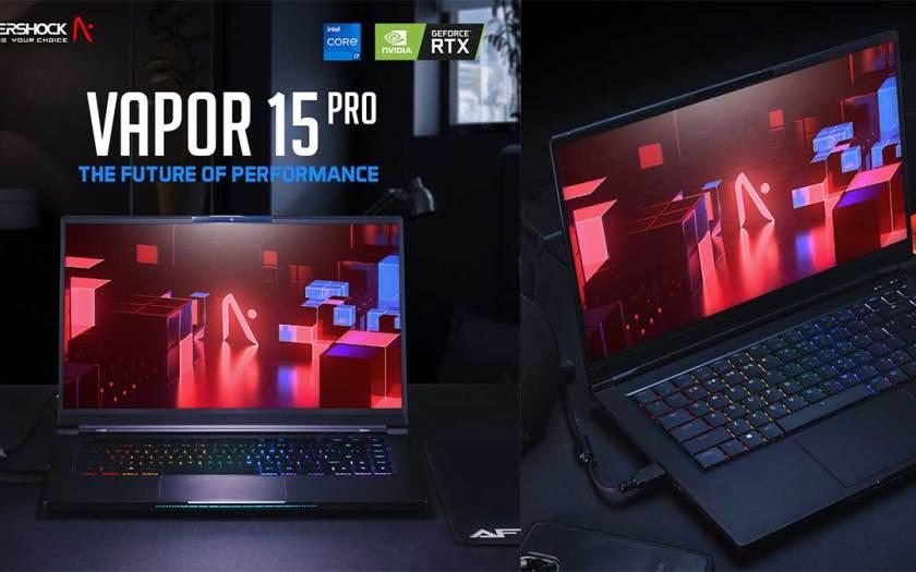 AFTERSHOCK PC Announces VAPOR 15 Pro – The Next Generation Performance Ultraportable