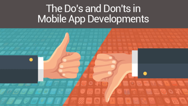 The Do's and Don'ts in Mobile App Development