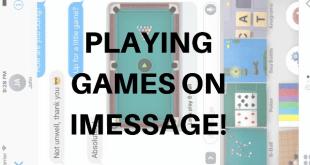 iMessage on iOS 10