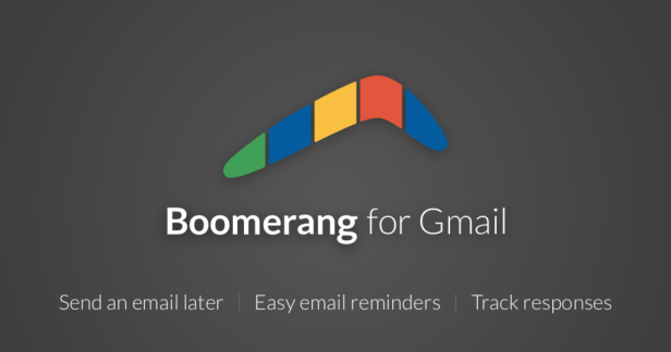 Email tools like Boomerang