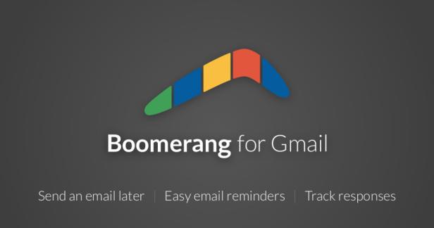 Email tools like Boomerang